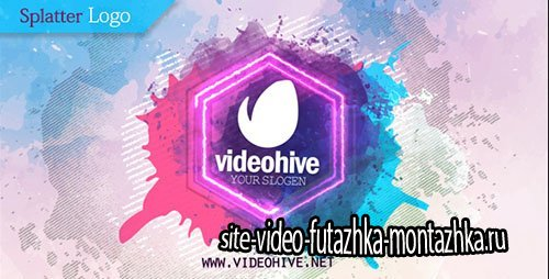 Splatter Logo - Project for After Effects (Videohive)