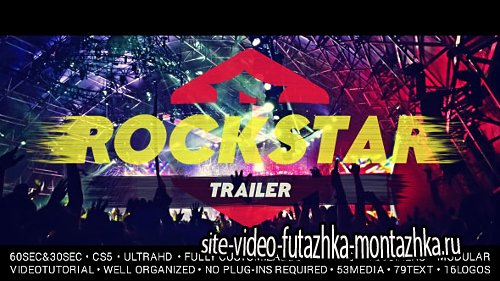 Rockstar Trailer - Project for After Effects (Videohive)