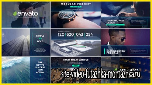 Minimal Presentation Slides - Project for After Effects (Videohive)