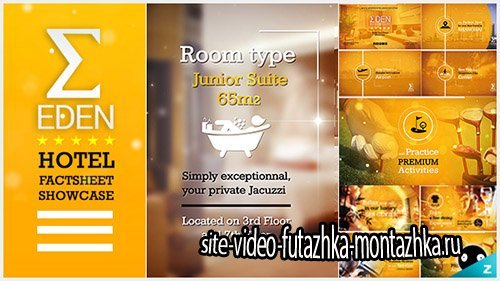 Hotel Fact-sheet Showcase - Project for After Effects (Videohive)