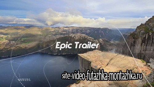 Проект ProShow Producer - Epic Trailer