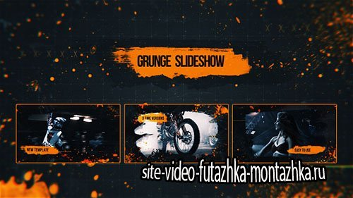 Grunge Slideshow 18296229 - Project for After Effects (Videohive)