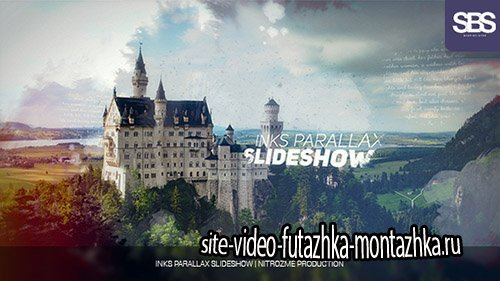 Inks Parallax Slideshow 19237631 - Project for After Effects (Videohive)
