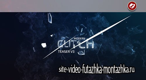 Modern Glitch MovieTeaser V3 - Project for After Effects (Videohive)