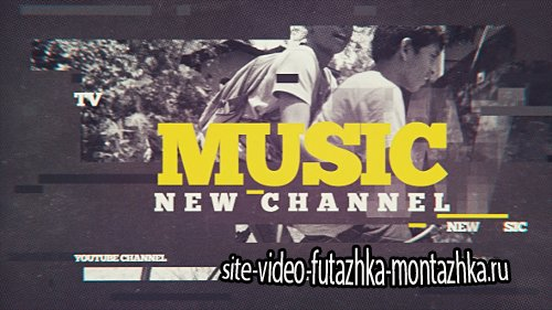 Music Channel - Project for After Effects (Videohive)