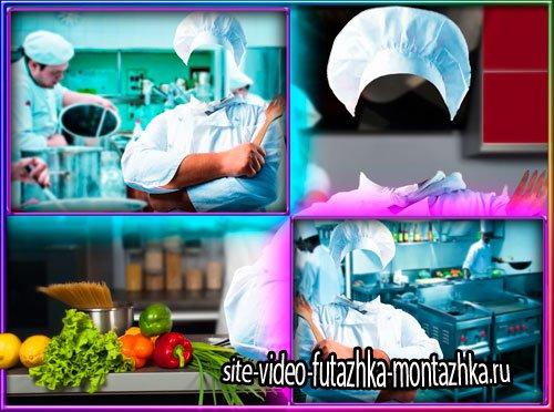 Шаблон для фотошопа - Рецепты от шеф-повара