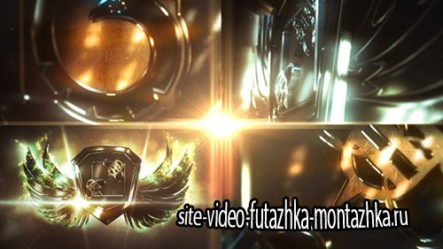 Metal Wings Logo - Project for After Effects (Videohive)