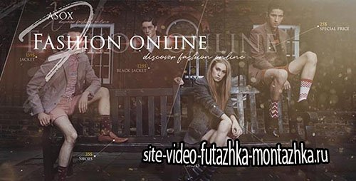 Fashion Online Shop - Project for After Effects (Videohive)