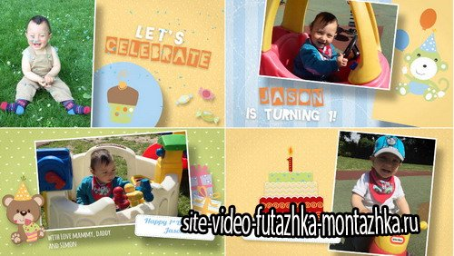 Birthday Wishes for Kids - Project for After Effects