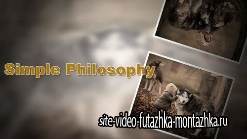 Проект ProShow Producer - Simple Philosophy