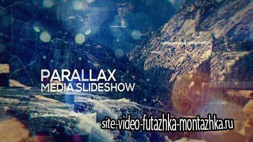 Parallax Media Slideshow - Project for After Effects (Videohive)