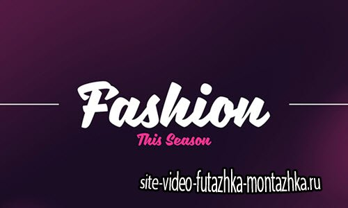 Fashion Promo 19239640 - Project for After Effects (Videohive)