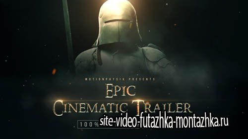 Epic Cinematic Trailer 19255226 - Project for After Effects (Videohive)
