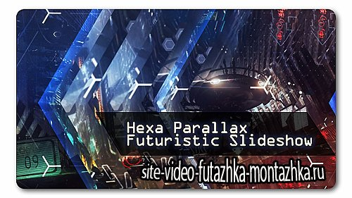 Hexa Parallax   Futuristic Slideshow - Project for After Effects (Videohive)