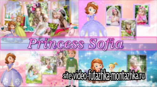 Princess Sofia  - project for ProShow Producer