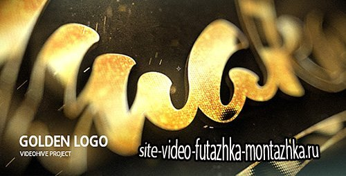 Golden Logo - Project for After Effects (Videohive)