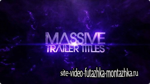 Massive Trailer Titles - After Effects Template