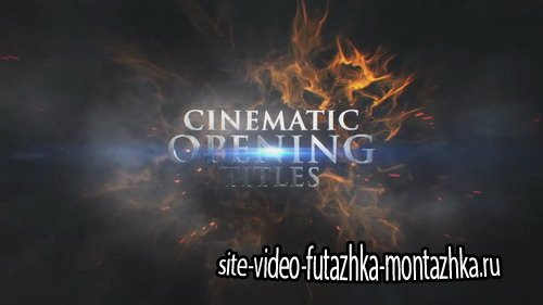 Cinematic Opening Titles - After Effects Template