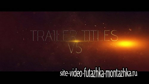 Trailer Titles v5 - After Effects Template