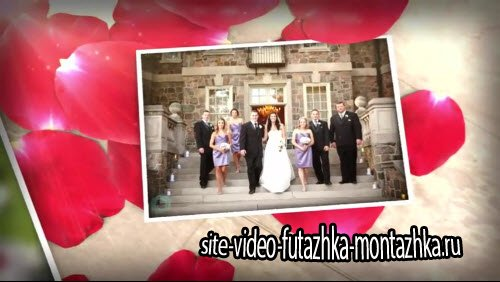 Wedding Memories Template - проект для Sony Vegas