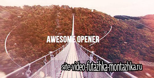 Awesome Opener 19322241 - Project for After Effects (Videohive)