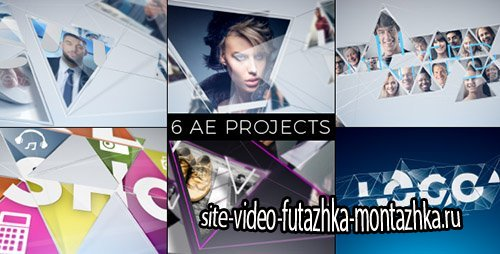 Connected Mosaic Pack - Project for After Effects (Videohive)