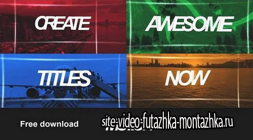 Stomp Motion - After Effects Template