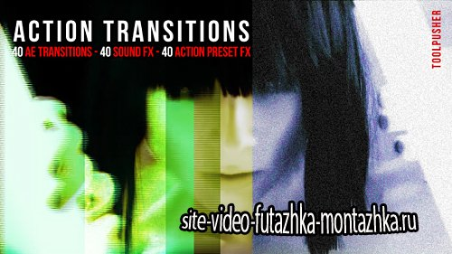 Action Transitions Pack - After Effects Project & Preset (Videohive)