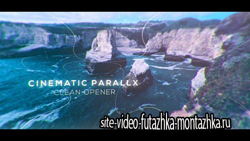 Cinematic Clean Parallax Opener   Slideshow - Project for After Effects (Videohive)
