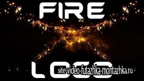 Fire X Logo - After Effects Template