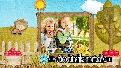 Лето в деревне - детский проект и стили для ProShow Producer