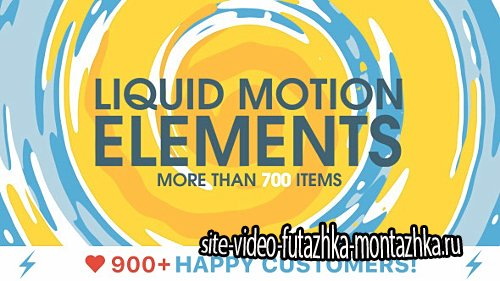 Liquid Motion Elements - Project for After Effects (Videohive)