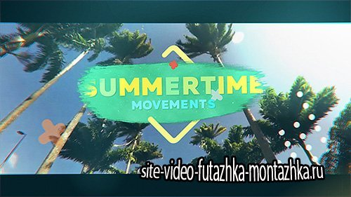 Summertime Movements - Bright Opener - Project for After Effects (Videohive)