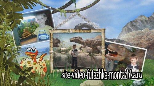 Проект ProShow Producer - В стране динозавров