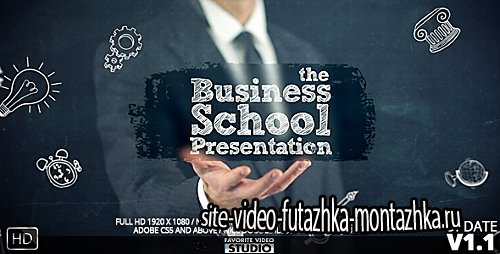 BusinessSchoolCollege Presentation - Project for After Effects (Videohive)