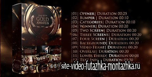 Gold Awards 20268254 - Project for After Effects (Videohive)