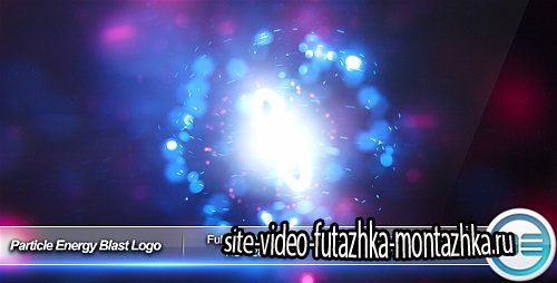Particle Energy Blast Logo Reveal - Project for After Effects (Videohive)