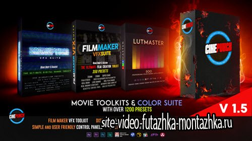 The FilmMaker VFX Suite - Project for After Effects (Videohive)