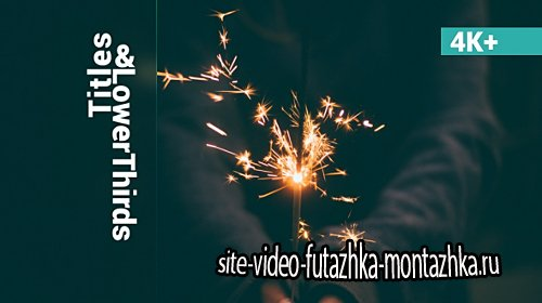 Imagine Titles & Lower Thirds - Project for After Effects (Videohive)
