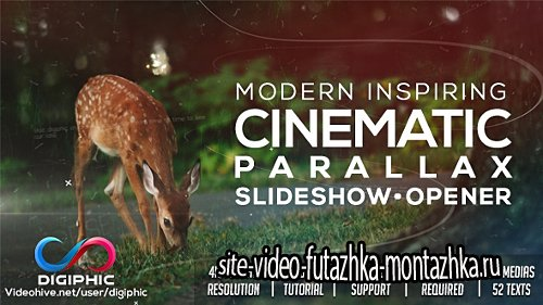 Modern Inspiring Cinematic Parallax Slideshow Opener - Project for After Effects (Videohive)