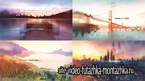 Light Slideshow - Project for After Effects (Videohive)