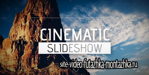 After Effects Template - Cinematic Slideshow