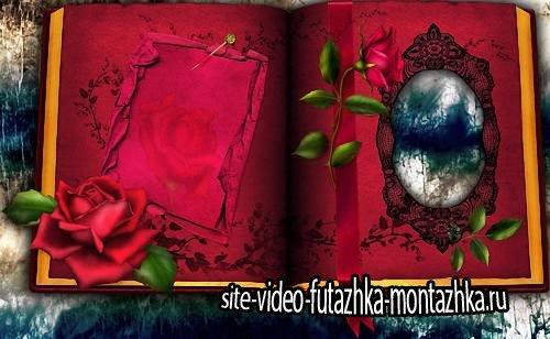 Красивая рамка - В красной книге