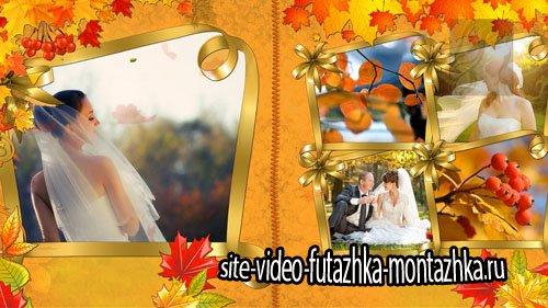 Осенняя свадьба - проект для ProShow Producer