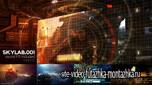 SKY LAB 001 - Project for After Effects (Videohive)