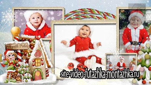 Сказка от Деда Мороза - детский  проект для ProShow Producer