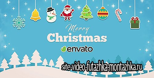 Short Christmas Intro - Project for After Effects (Videohive)