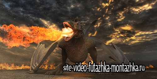Dragon Logo Reveal - Project for After Effects (Videohive)