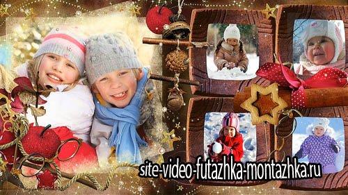 Сказка в Рождество - детский новогодний  проект для ProShow Producer