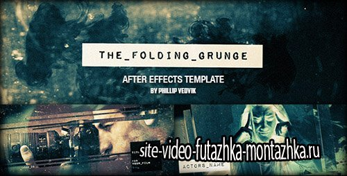 The Folding Grunge - Project for After Effects (Videohive)